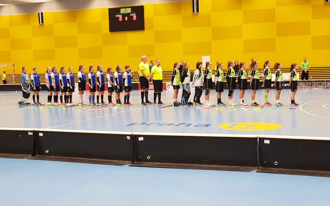 Stříbro z Prague Floorball Cup 2019